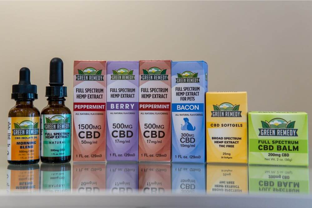 Green Remedy CBD Products