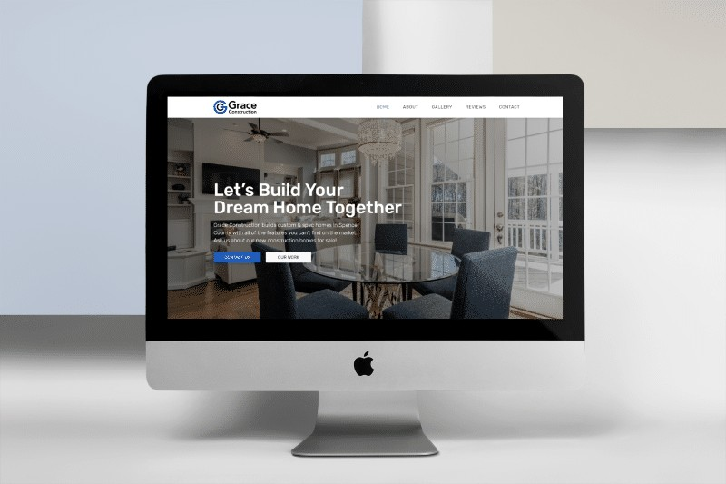 Grace Construction Portfolio Mockup