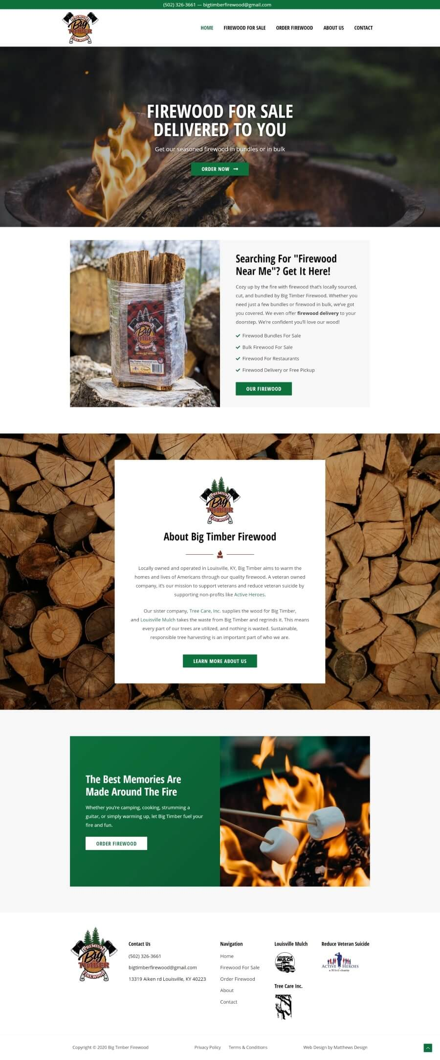Big Timber Web Design by Matthews Design