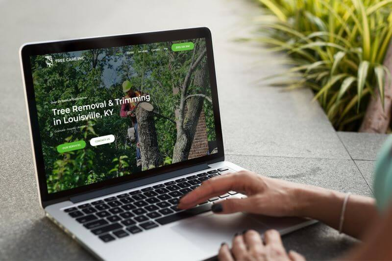 Tree Care Inc. Website Design